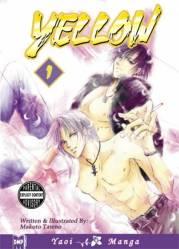 Yellow 1 cover - Tateno Makoto